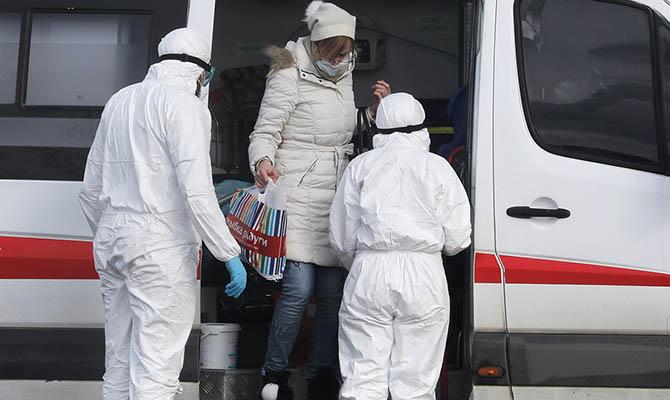 В России за сутки коронавирусом заболели 5849 человек
