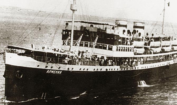 В Черном море нашли затопленный немцами в 1941 году теплоход «Армения»