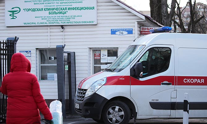 В Беларуси за сутки заболела почти 1 тысяча человек