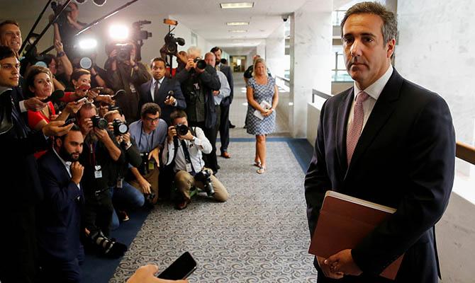 Бывшего адвоката Трампа Коэна перевели под домашний арест