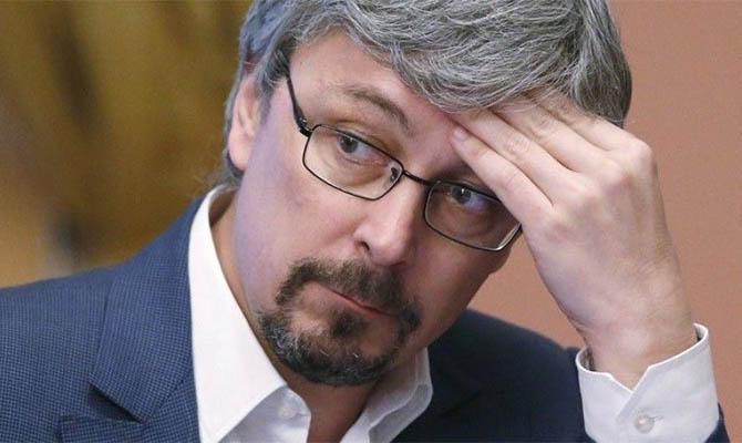В «Укркинохронике» обвинили Ткаченко в искажении фактов по деятельности предприятия