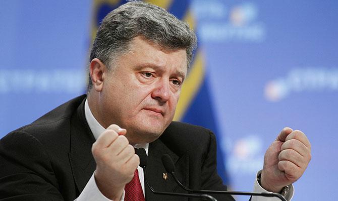 Порошенко задекларировал 773 млн гривен доходов за прошлый год