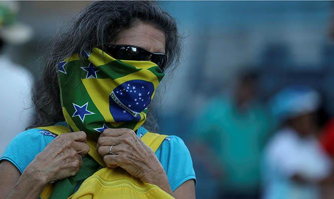 В Бразилии наиболее тяжелая ситуация с коронавирусом