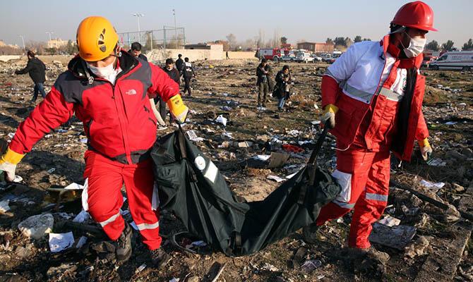 Иран направит во Францию черные ящики сбитого украинского самолета