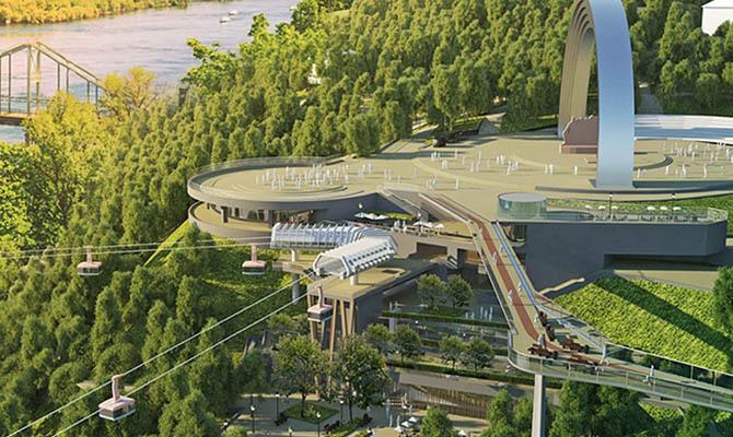 У Кличко решили построить канатную дорогу через Днепр
