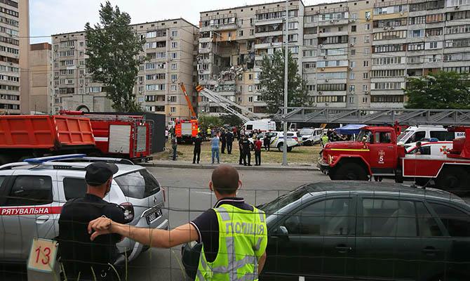 Из многоэтажки, где произошел взрыв газа, эвакуировано 23 человека