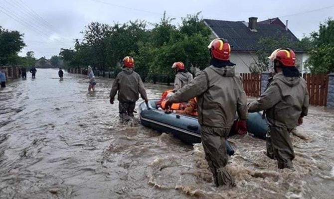 США выделили Украине помощь на борьбу с паводками
