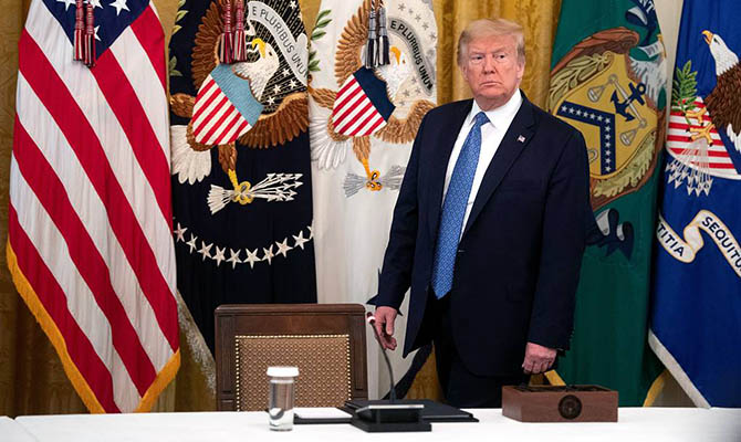 Трамп назвал «вбросом» публикацию СМИ о России и Афганистане