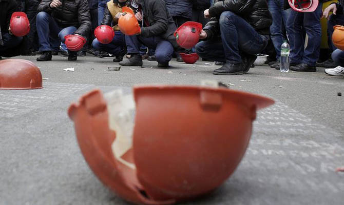 На этой неделе ожидаются митинги шахтеров, спланированые в ДТЭК Ахметова - Герус
