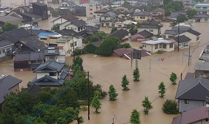 Число жертв ливней на юго-западе Японии достигло 41