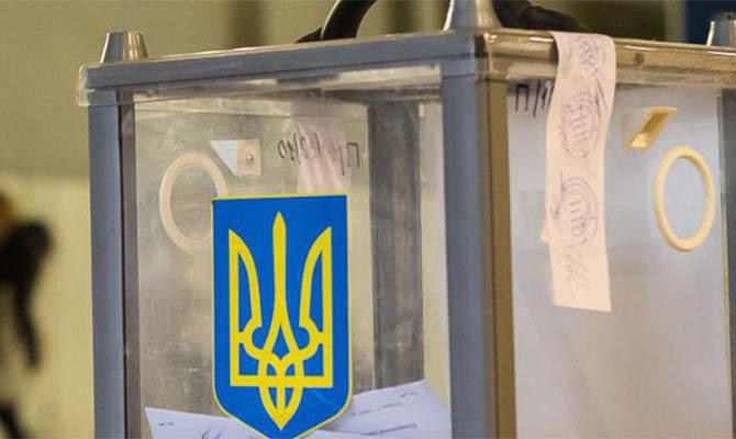 В случае выборов в Раду проходят пять партий