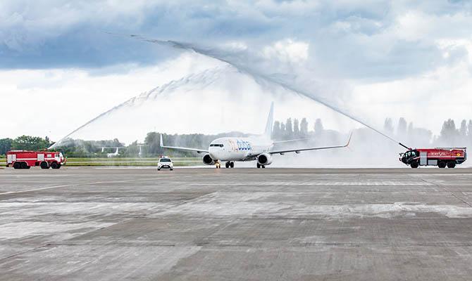 flydubai возобновила полеты в Киев