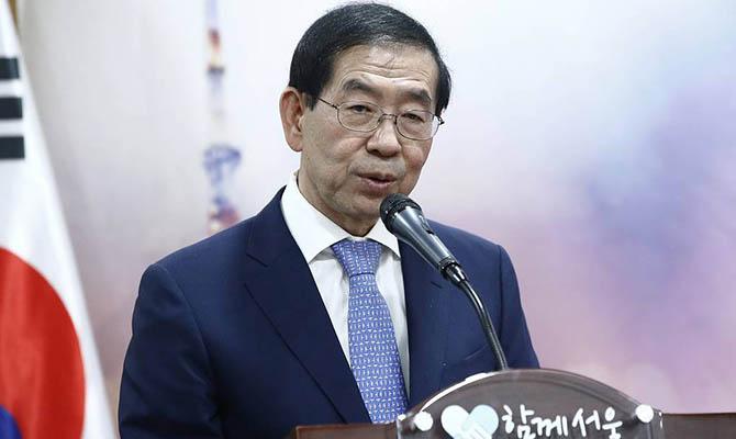 Пропавший мэр Сеула обнаружен мертвым