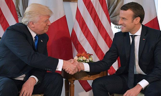 США вводят 25-процентную пошлину на товары из Франции