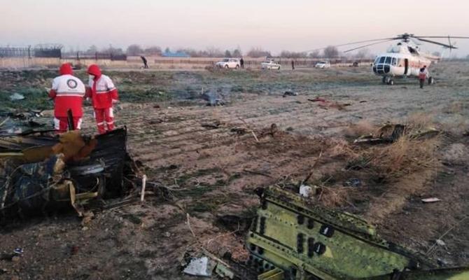 Украина хочет совместно с Ираном расследовать катастрофу МАУ
