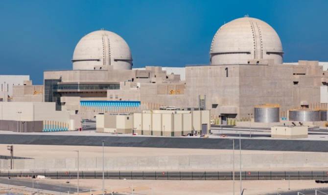 В ОАЭ заработала первая в арабских странах АЭС