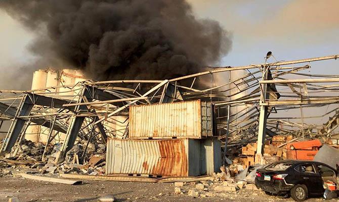 В столице Ливана мощный взрыв, десятки жертв