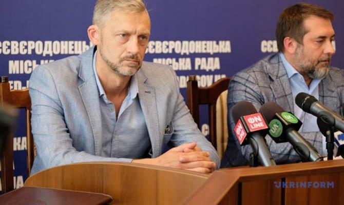 Северодонецк возглавил действующий сотрудник СБУ