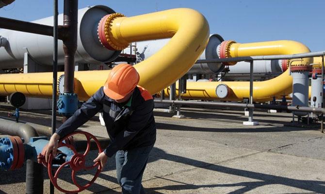 Украина накопила рекордные запасы газа в ПХГ