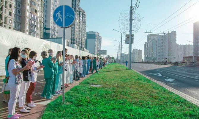 В городах Беларуси возобновились акции протеста