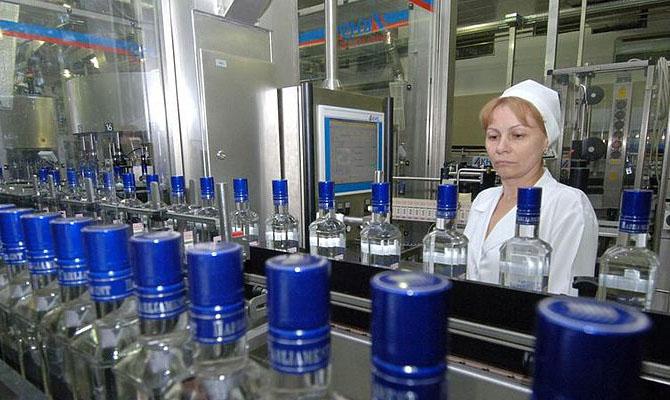 Через месяц в Украине появится первый частный спиртзавод