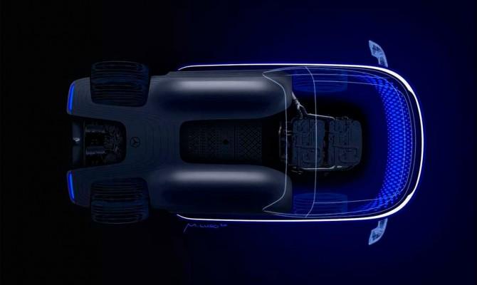 Mercedes-Benz покажет грузовик с водородным двигателем