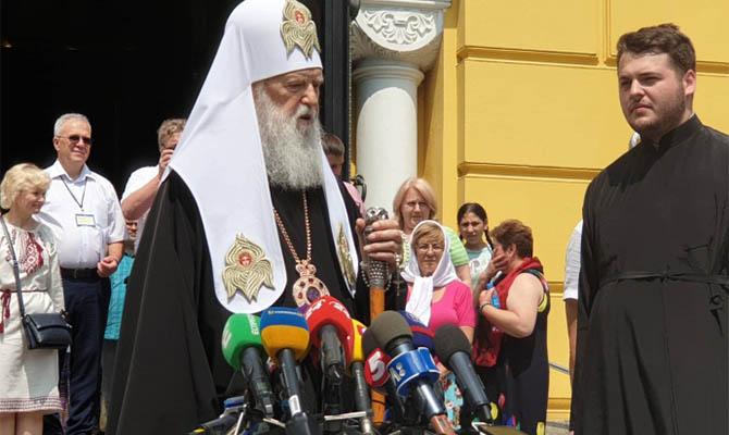 Патриарх Филарет победил коронавирус