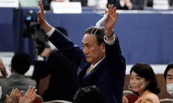 Есихидэ Суга стал новым премьер-министром Японии