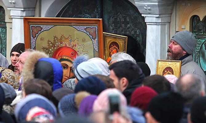 Партия Медведчука заступилась за прихожан УПЦ