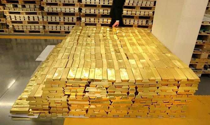 Цена золота опустилась ниже $1900 за унцию впервые с начала августа