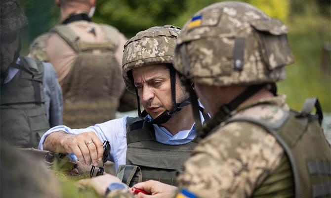 Зеленский признал, что не знает сроков окончания войны на Донбассе