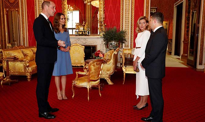 Зеленский пригласил принца Уильяма и Кейт Мидлтон в Украину