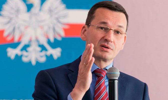 Премьер Польши ушел на самоизоляцию