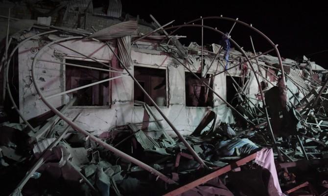 В Азербайджане заявили о более 10 погибших при ракетном обстреле города Гянджа