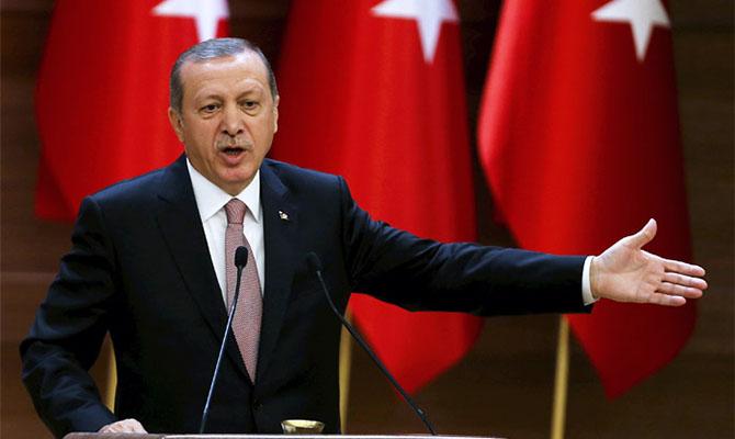 Эрдоган обвинил несколько стран в поставках оружия Армении