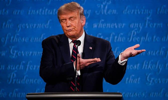 Трамп предрекает депрессию в США в случае победы Байдена