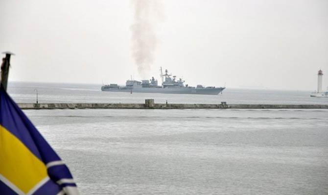Украина начинает строить две военно-морские базы