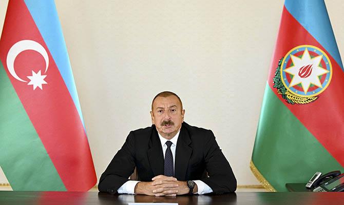 Глава Азербайджана заявил о взятии города и 24 сел в Карабахе