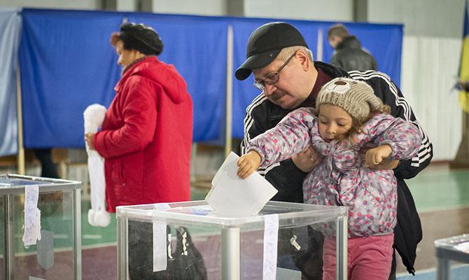 Явка в Киеве на 13:00 была всего около 16%
