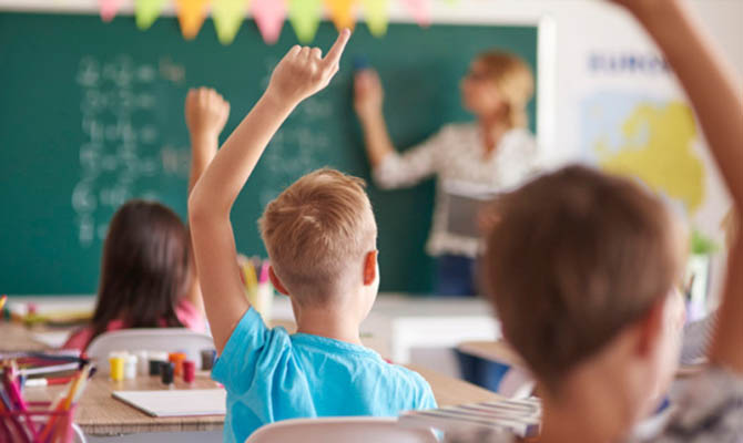 После каникул почти все киевские школы вернутся к очному обучению