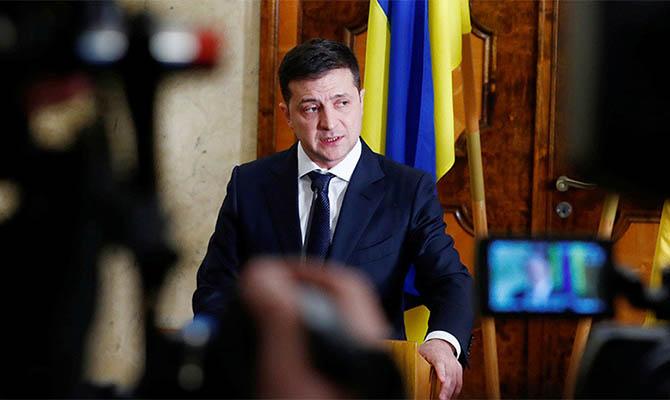 Зеленский инициировал внесение законопроекта о «восстановлении добропорядочности конституционного судопроизводства»