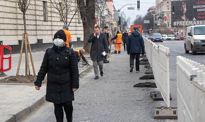 В Киеве за сутки выявлено почти 800 случай COVID-19