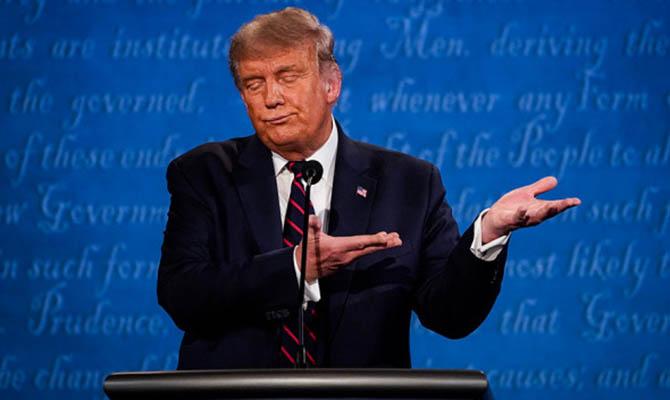 Трамп сократил отставание от Байдена по уровню поддержки
