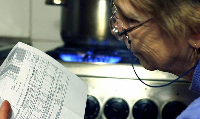 Большая часть украинских домохозяйств не платит за газ