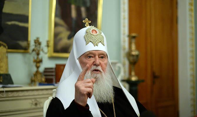 Филарет хочет церковь, независимую и от Москвы, и от Константинополя