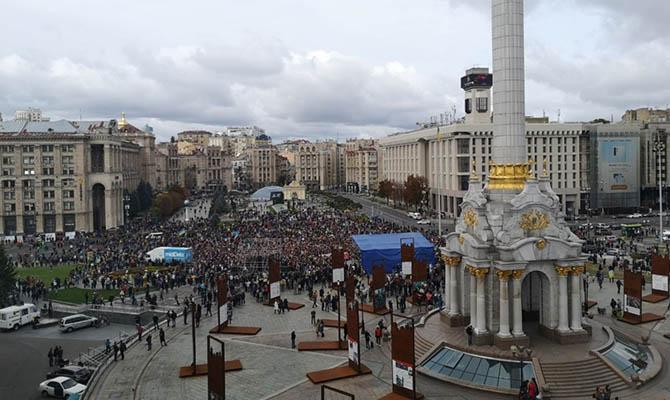 Несмотря на пандемию, на завтра на Майдане запланированы несколько массовых акций