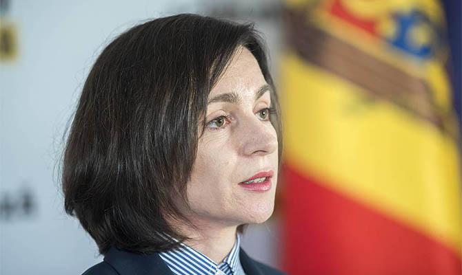 Избранная президентом Молдовы Санду собирается встретиться с Зеленским