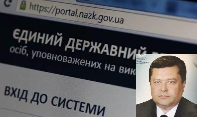 Директора службы ветнадзора в Одессе Игоря Сологуба поймали на недостоверном декларировании