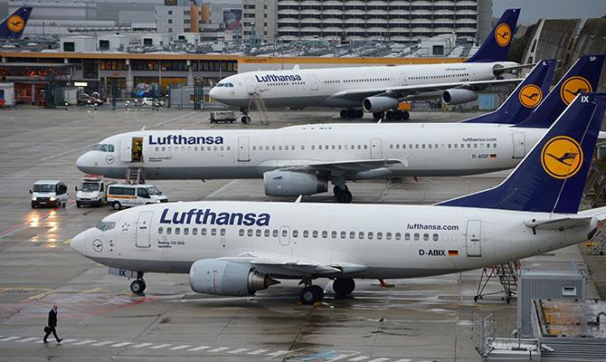 Lufthansa сократит почти 30 тысяч рабочих мест