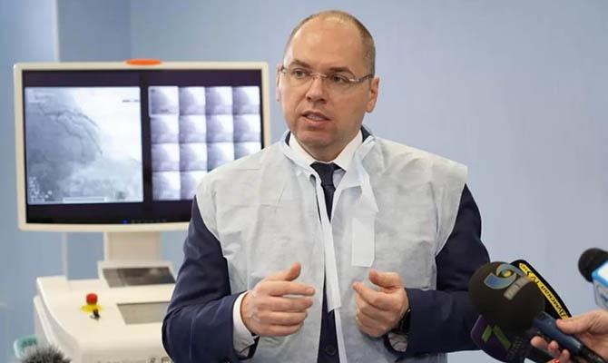 Степанов обещает бесплатно вакцинировать около 21 млн украинцев